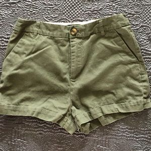 Forever 21 Dark Olive Green Women's Shorts Sz US26
